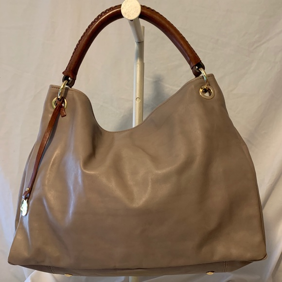 Nardelli Leather Italian Crossbody Handbag Satchel Purse